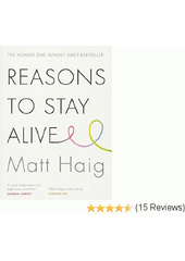 Obal knihy Reasons to Stay Alive EN