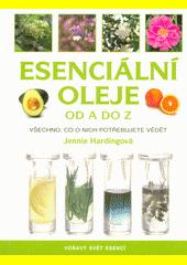 Obal knihy Esenciální oleje od A do Z CZ