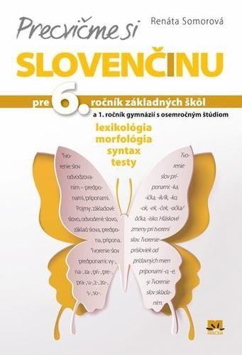 Obal knihy Precvičme si slovenčinu pre 6. ročník základných škôl