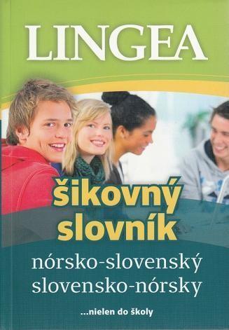 Obal knihy Nórsko-slovenský a slovensko-nórsky šikovný slovník