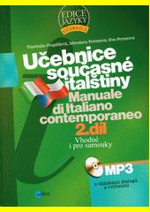 Obal knihy Učebnice současné italštiny, 2. díl (verze s MP3) CZ