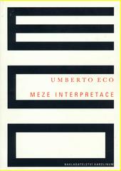 Obal knihy Meze interpretace CZ
