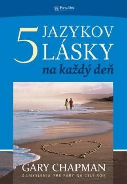 Obal knihy 5 jazykov lásky na každý deň