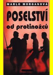 Obal knihy Poselství od protinožců CZ