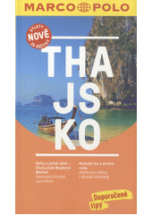 Obal knihy Thajsko CZ