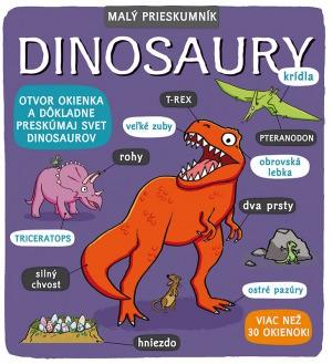 Obal knihy Malý prieskumník - Dinosaury