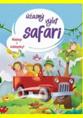 Úžasný výlet safari - Nalep i nálepky! CZ