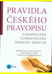 Pravidla českého pravopisu CZ