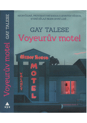 Obal knihy Voyeurův motel CZ
