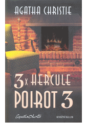 Obal knihy 3x Hercule Poirot 3 CZ