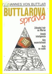 Obal knihy Buttlarova správa