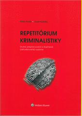 Obal knihy Repetitórium kriminalistiky