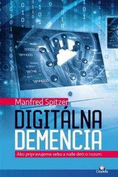Obal knihy Digitálna demencia