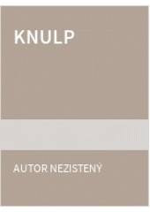 Obal knihy Knulp