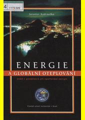 Obal knihy Energie a globální oteplování CZ
