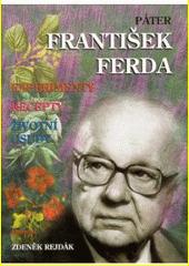 Obal knihy Páter František Ferda CZ