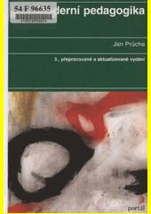 Obal knihy Moderní pedagogika CZ