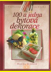 Obal knihy 100 a jedna bytová dekorace CZ