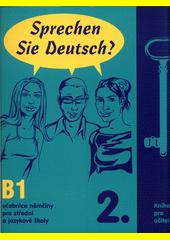 Obal knihy Sprechen Sie Deutsch? 2 - Kniha pro učitele CZ
