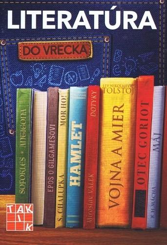 Obal knihy Literatúra do vrecka