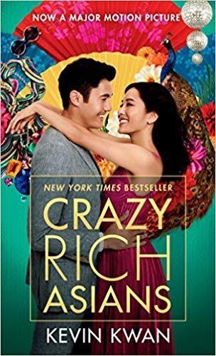 Obal knihy Crazy Rich Asians