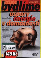 Obal knihy Úspory energie v domácnosti CZ