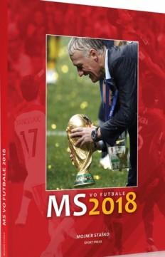 Obal knihy MS vo futbale 2018