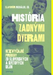 Obal knihy História zadnými dverami