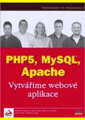 Obal knihy PHP5, MySQL, Apache CZ