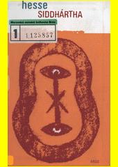 Obal knihy Siddhártha CZ