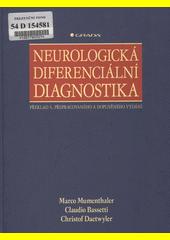 Obal knihy Neurologická diferenciální diagnostika CZ
