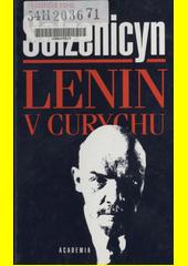 Obal knihy Lenin v Curychu CZ