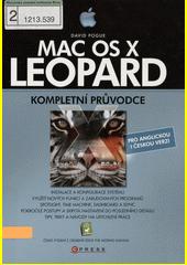 Obal knihy Mac OS X Leopard CZ