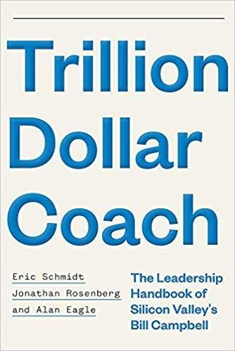 Obal knihy Trillion Dollar Coach