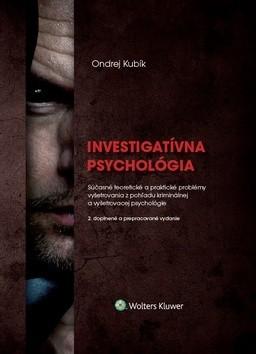 Obal knihy Investigatívna psychológia