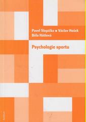Obal knihy Psychologie sportu CZ
