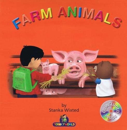 Obal knihy Farm animals