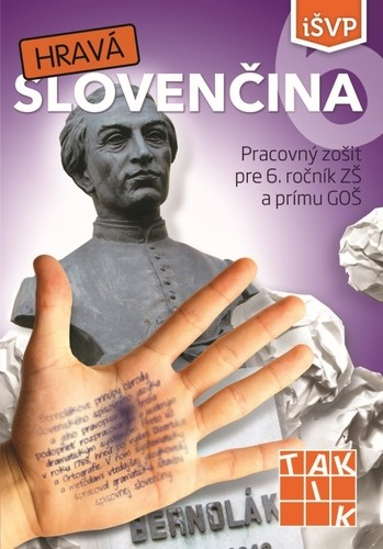 Obal knihy Hravá slovenčina 6