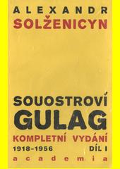 Obal knihy Souostroví Gulag CZ