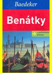 Obal knihy Benátky - s podrobným plánem CZ