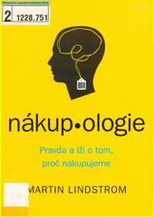 Obal knihy Nákupologie CZ