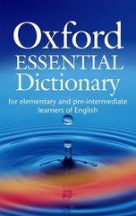Obal knihy Oxford Essential Dictionary EN