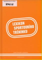 Obal knihy Lexikon sportovního tréninku CZ