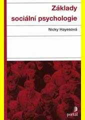 Obal knihy Základy sociální psychologie CZ