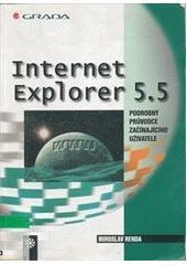Internet Explorer 5.5 - podrobný průvodce začínajícího uživatele CZ