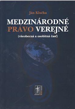 Obal knihy Medzinárodné právo verejné