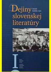 Obal knihy Dejiny slovenskej literatúry I.