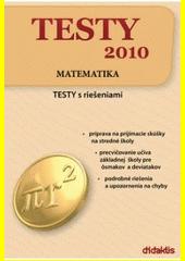 Obal knihy Testy 2010 - Matematika