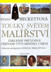 Obal knihy Toulky světem malířství CZ