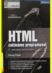Obal knihy HTML - začínáme programovat CZ